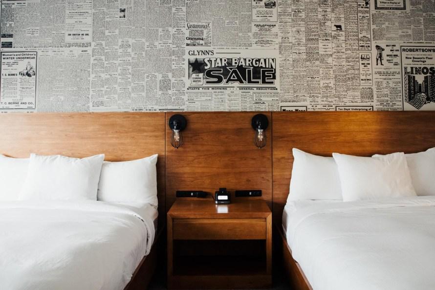 Lismore Hotel Eau Claire beds