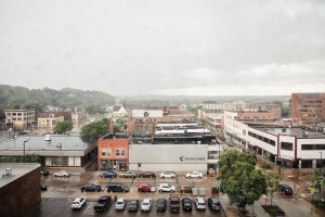Eau Claire window view