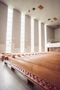 First Christian Church interior