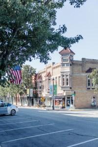 Columbus Indiana street corner