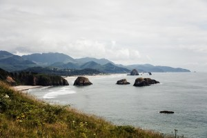 Cannon Beach view from Ecola State Park