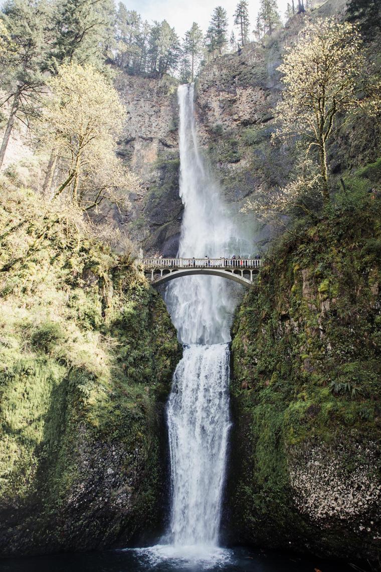 Best day trips from Portland - Multnomah Falls