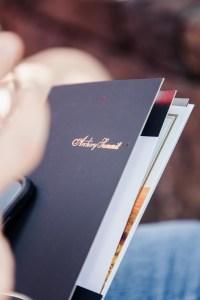 winery menu