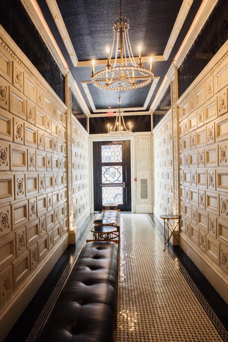 Art deco hallway