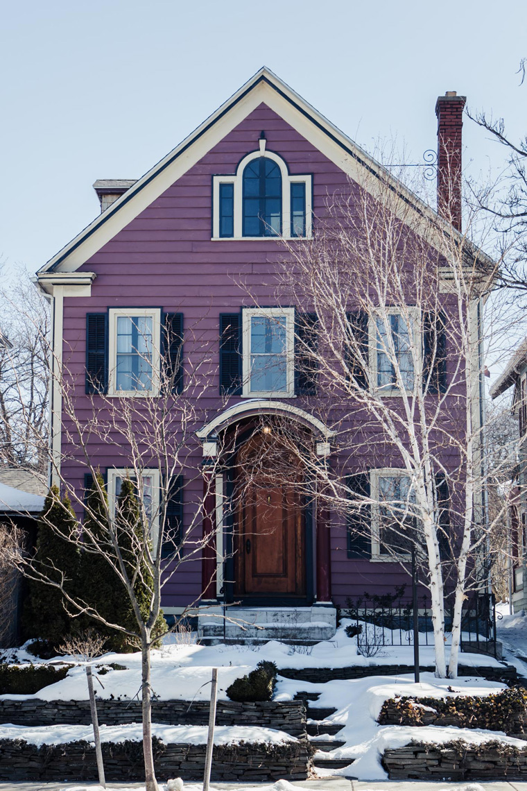 Purple house, must-see Buffalo attractions