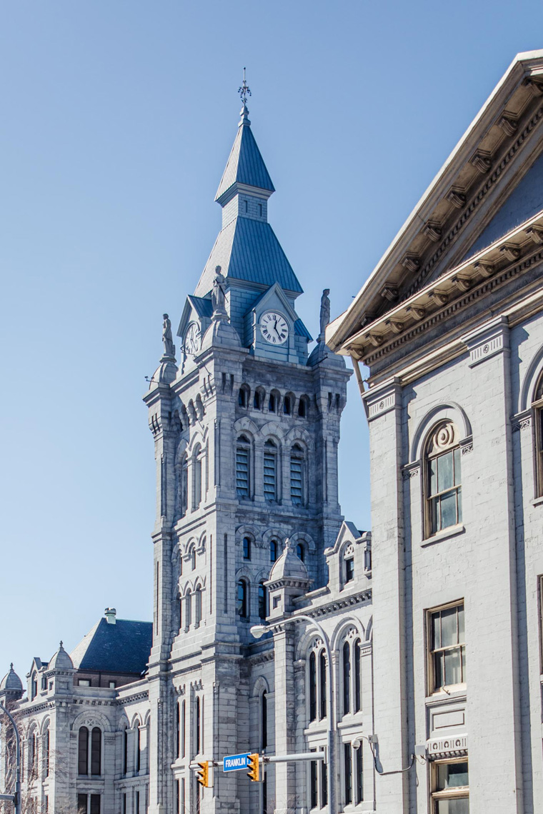 City building in must-see Buffalo attractions