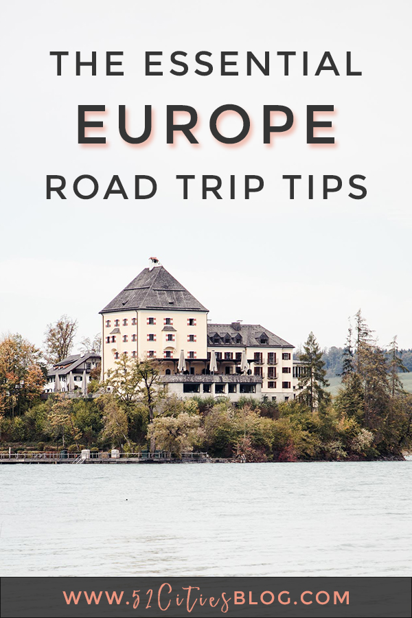 The essential Europe road trip tips