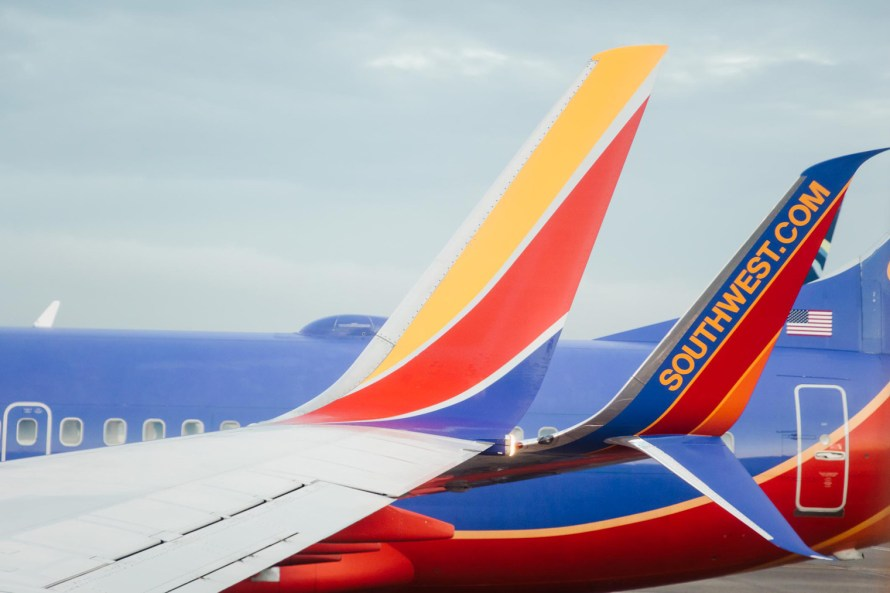How to keep Southwest miles from expiring - Southwest plane tails