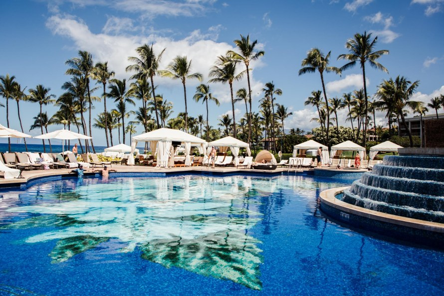 how to not pay resort fees - Waldorf Astoria Grand Wailea pool
