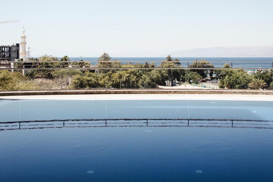 DoubleTree Aqaba pool