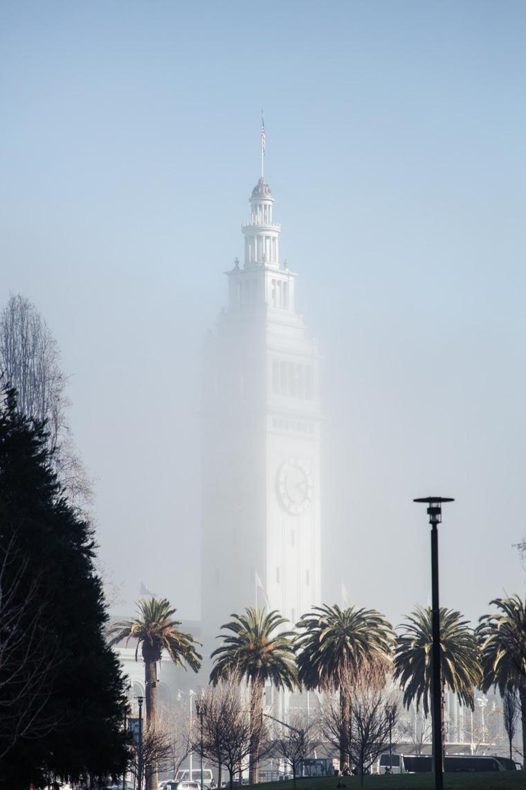 Ferry Building clocktower
