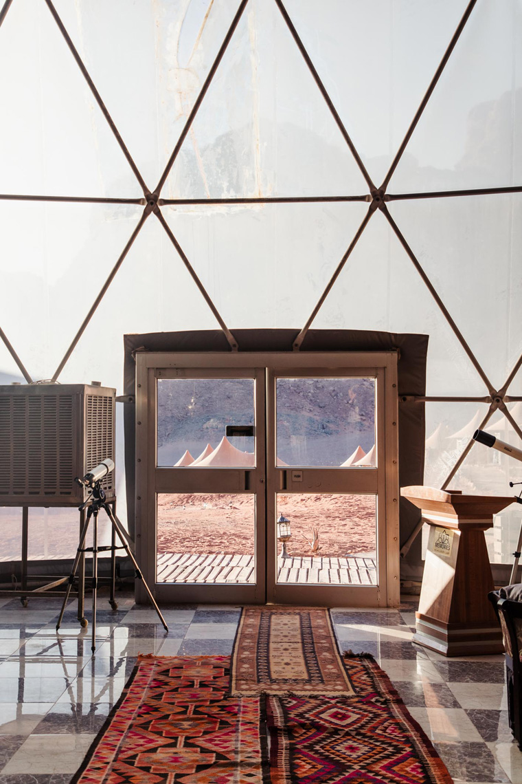 Dining dome doors