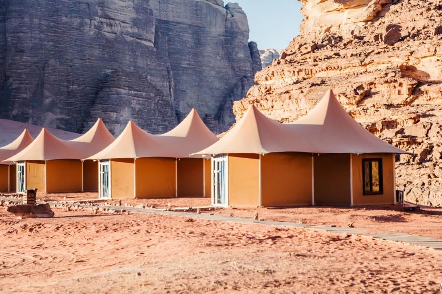 Memories Aicha Luxury Camp tents
