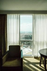 MGM Signature room window