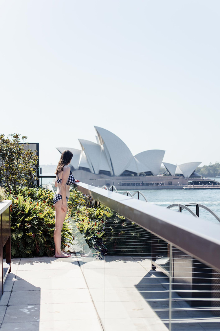 Park Hyatt Sydney rooftop view