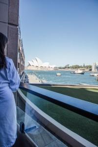 Park Hyatt Sydney balcony view