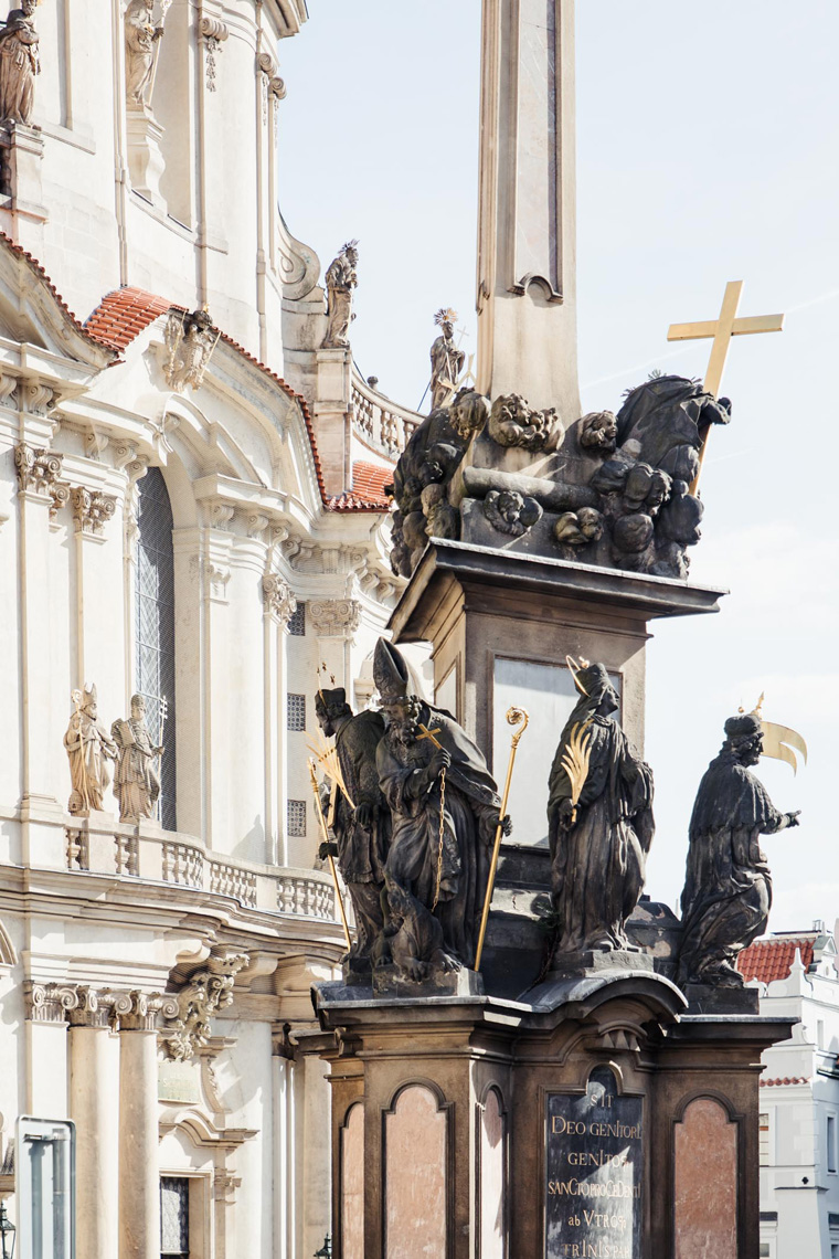 Statues - Prague two day itinerary