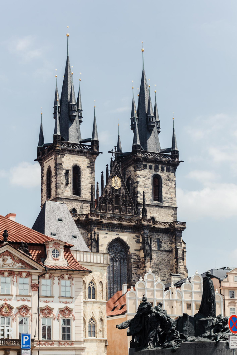 Tyn Church - Prague two day itinerary