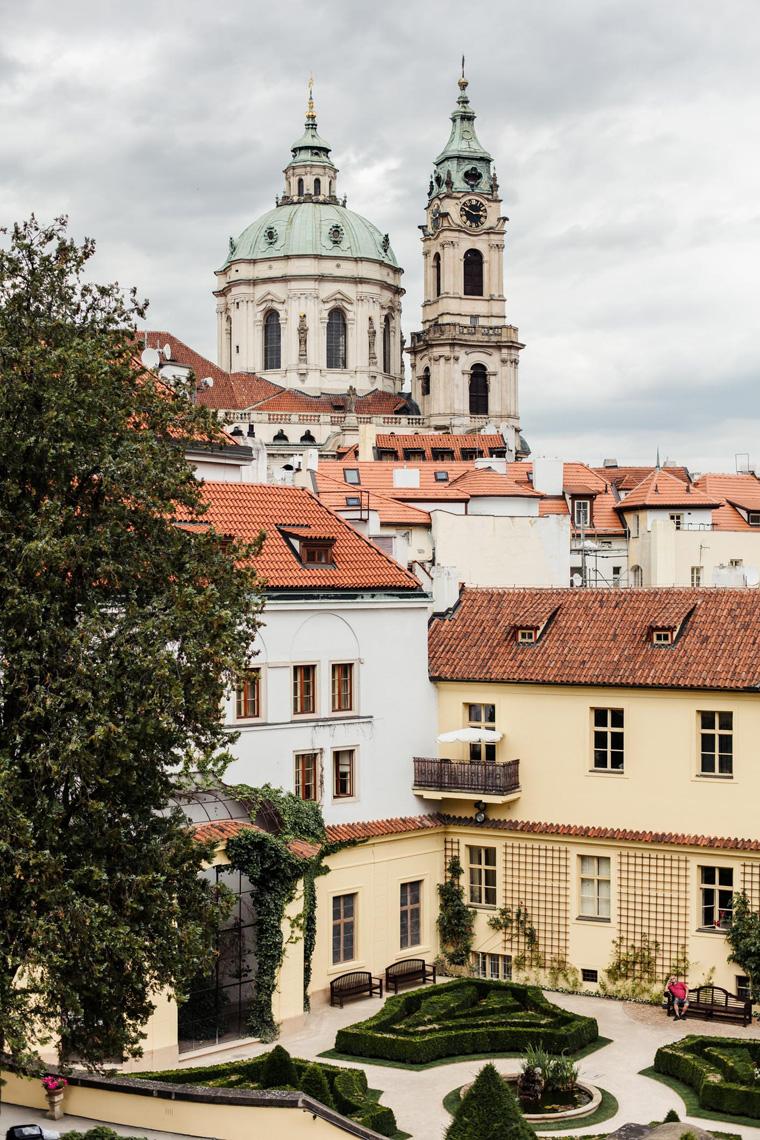 Vrtbovská zahrada - Prague two day itinerary