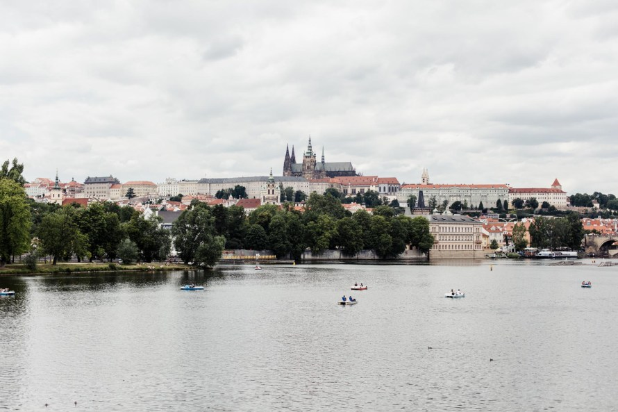 Peddle boats - Prague two day itinerary