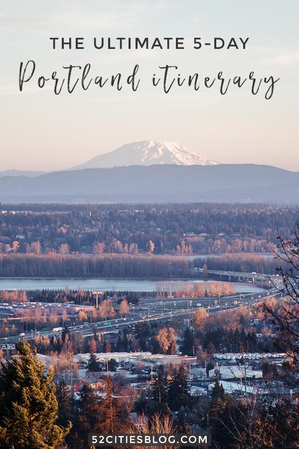 Portland itinerary