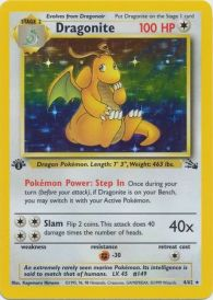 1068042 Pokémon: Top 3 Most Expensive 1st Edition Fossil Set Cards