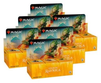 Image result for booster boxes ravnica guilds