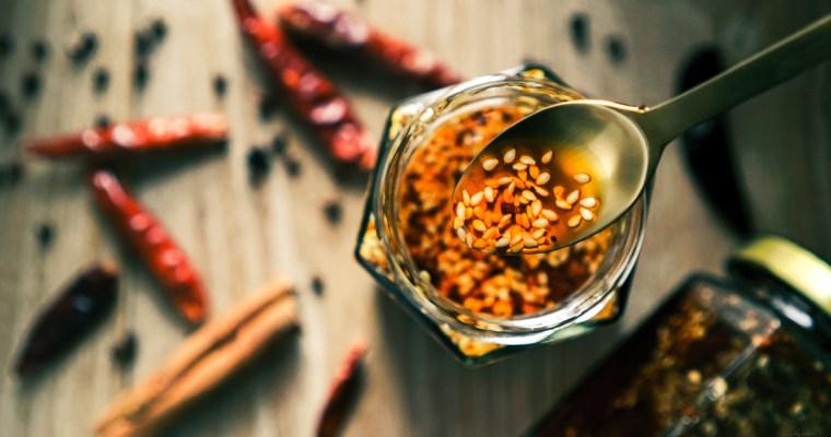 自製香辣紅油