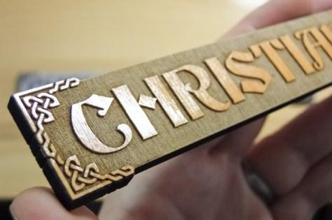 Christian Baldwin Nameplates