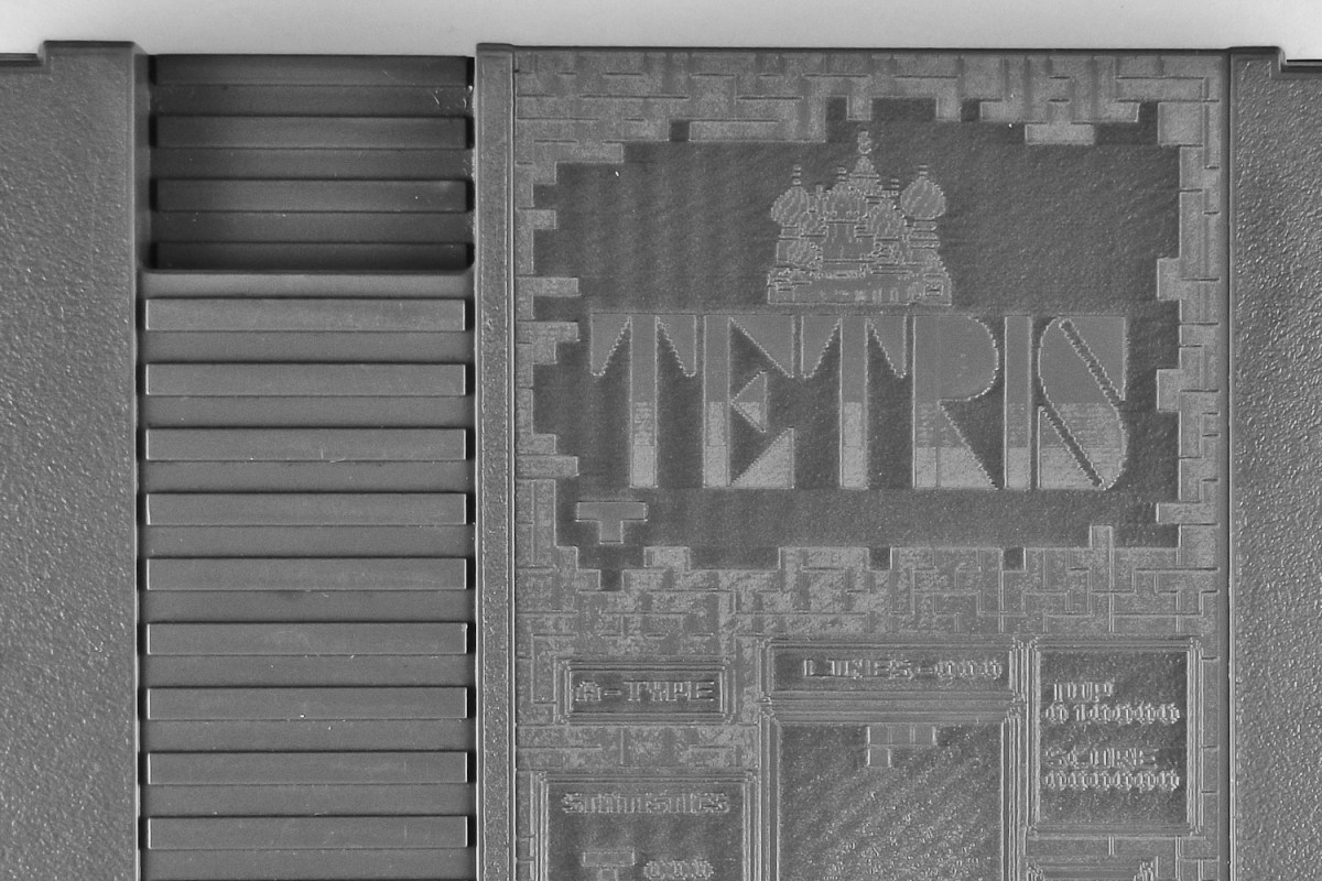 12: NES Etching