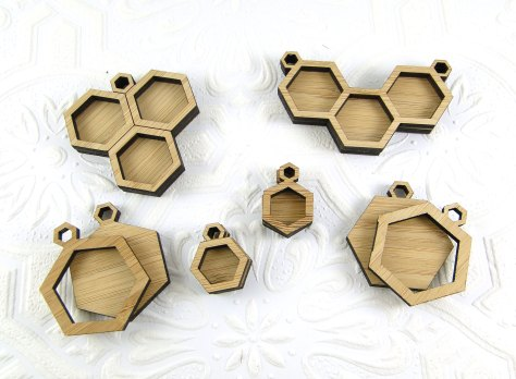 All the styles of bamboo pendants