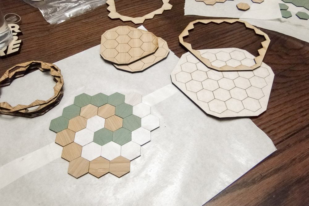 61: Hexagon Trivet
