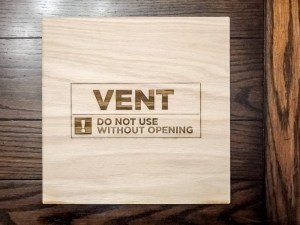 The final vent cover. How simple can you get?