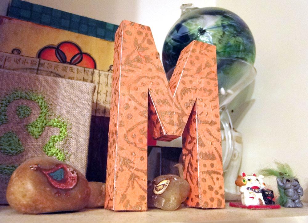 86: 3D Letters