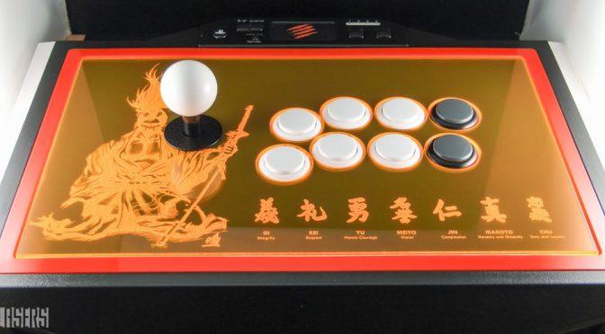 120: Fluorescent Samurai FightStick