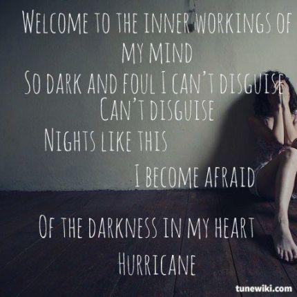 lyrics hurricane