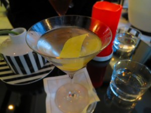 martini with jazz music
