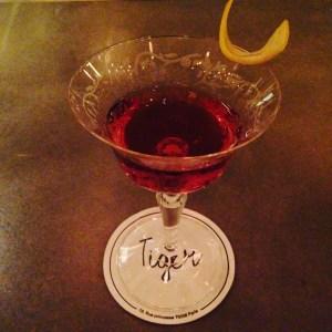 cocktails at tiger bar paris