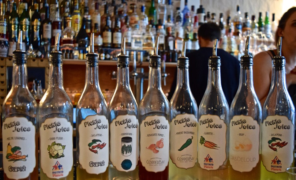 picke juices for several paris bars