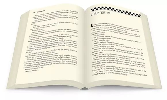 Whiskey Sour premium ebook and paper interior design