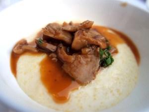 Creamy Polenta at Scarpetta
