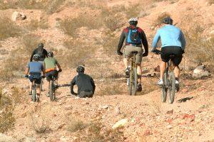 Bootleg Canyon trail