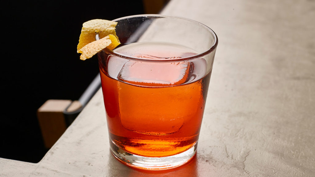 Bonji Old Fashioned at Momofuku