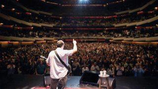 Adam Sandler's show at The Cosmopolitan of Las Vegas