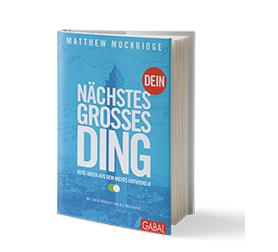 Dein nächstes grosses Ding - Buchcover