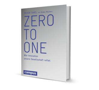 Zero to one Buchcover