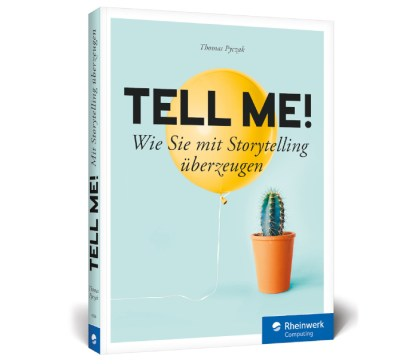 Tell me! Buchcover