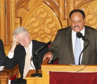 Bild von Bill Clinton beim Schlafen