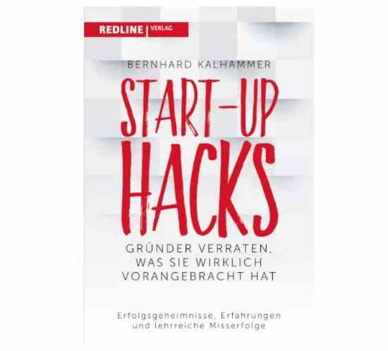 Start-up Hacks - Buchcover