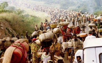 rwandans escaping